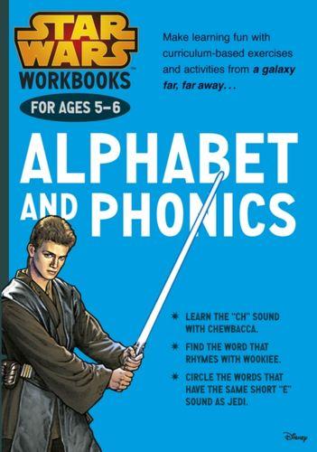 9781407162782 Star Wars Workbooks: Alphabet and Phonics   Ages 5-6