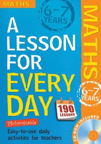 9781408125458 Lesson for Every Day: Maths Ages 6-7