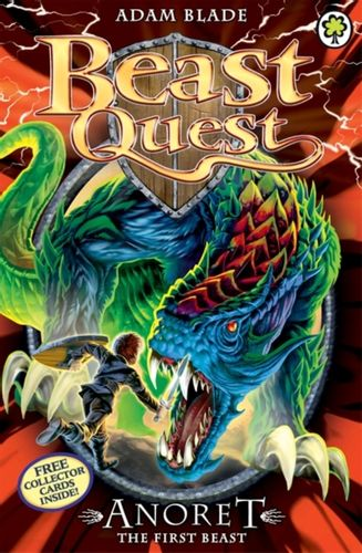 9781408324103 Beast Quest: Anoret the First Beast