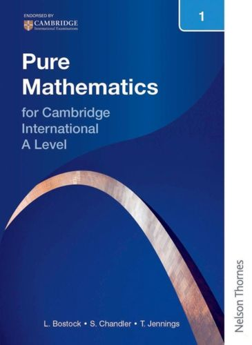 9781408515587 Nelson Pure Mathematics 1 for Cambridge International A Level
