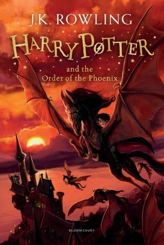9781408855690 Harry Potter and the Order of the Phoenix