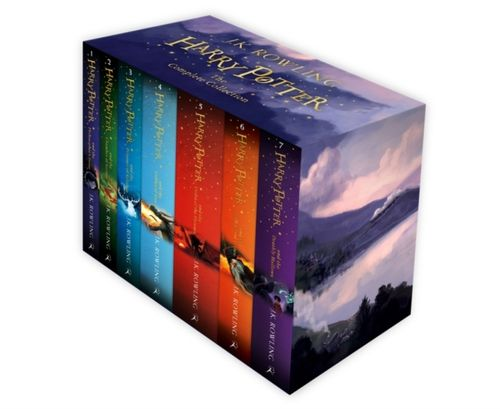 9781408856772 Harry Potter Box Set: The Complete Collection Children's Paperback