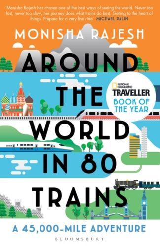 9781408869772 Around the World in 80 Trains