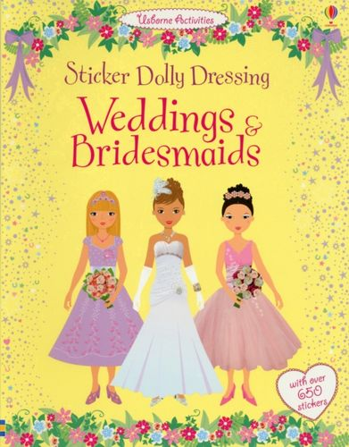 9781409536918 Sticker Dolly Dressing Weddings and Bridesmaids