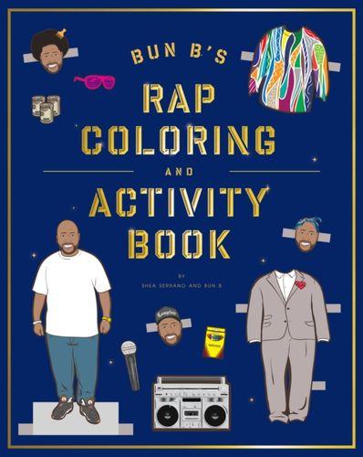 9781419710414 Bun B's Rap Coloring and Activity Book