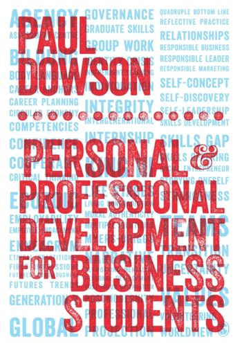 9781446282212 Personal and Professional Development for Business Students