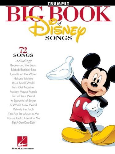 9781458411358 Big Book Of Disney Songs - Trumpet