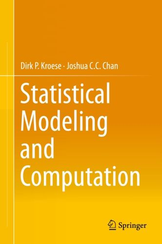 9781461487746 Statistical Modeling and Computation