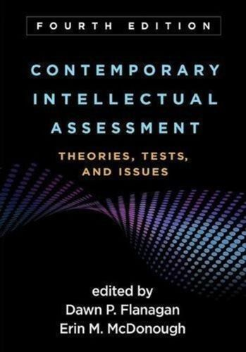 9781462535781 Contemporary Intellectual Assessment, Fourth Edition