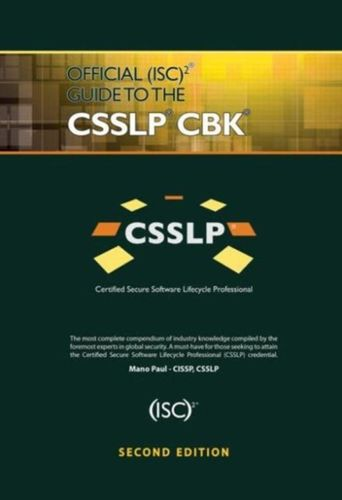 9781466571273 Official (ISC)2 Guide to the CSSLP CBK