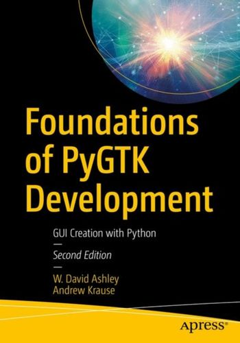 9781484241783 Foundations of PyGTK Development
