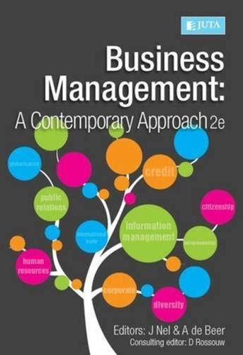 9781485102526 Business management