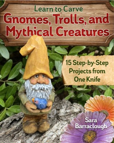 9781497101128 Learn to Carve Gnomes, Trolls, and Mythical Creatures