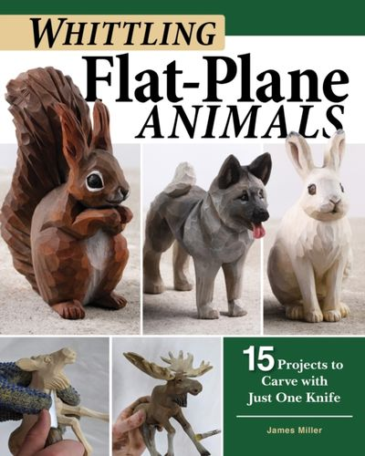 9781497101159 Whittling Flat-Plane Animals
