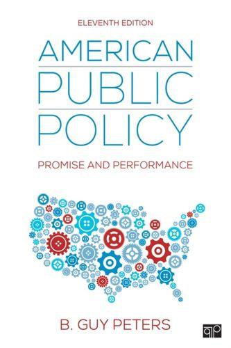 9781506399584 American Public Policy