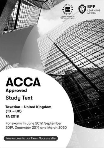 9781509722914 ACCA Taxation FA2018