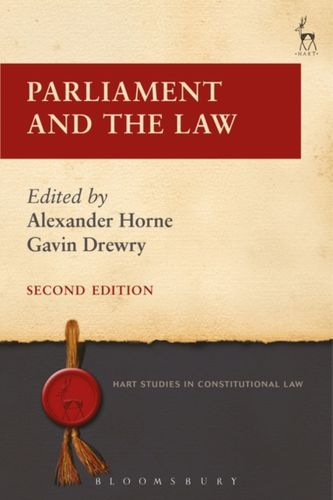 9781509908714 Parliament and the Law