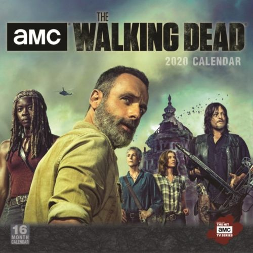 9781531907761 Walking Dead , the 2020 Square Wall Calendar