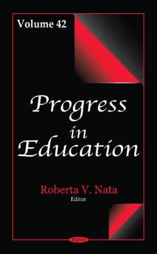 9781536104349 Progress in Education
