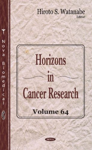 9781536105124 Horizons in Cancer Research