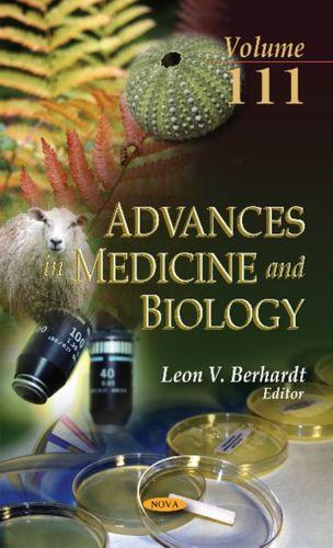 9781536105131 Advances in Medicine & Biology