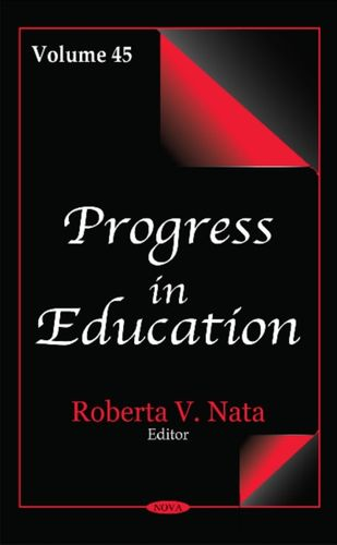 9781536106749 Progress in Education