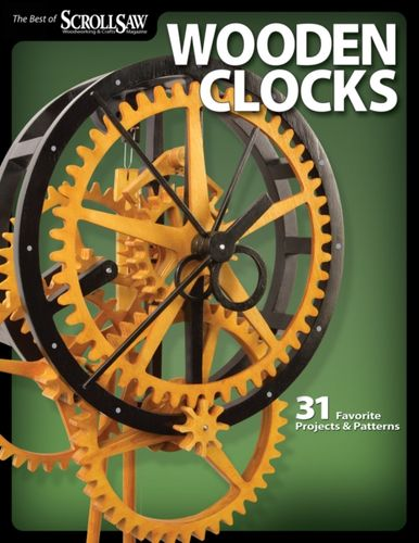 9781565234277 Wooden Clocks