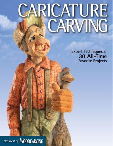 9781565234741 Caricature Carving (Best of WCI)