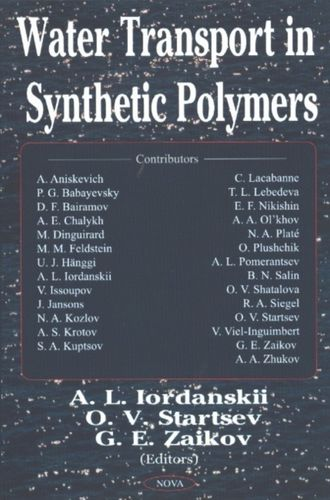 9781590338865 Water Transport in Synthetic Polymers