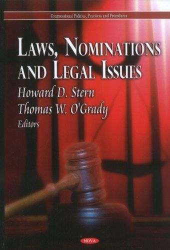 9781611228700 Laws, Nominations & Legal Issues