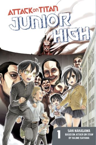 9781612629162 Attack On Titan: Junior High 1