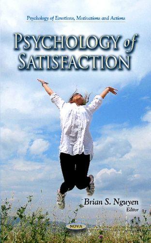 9781614706885 Psychology of Satisfaction