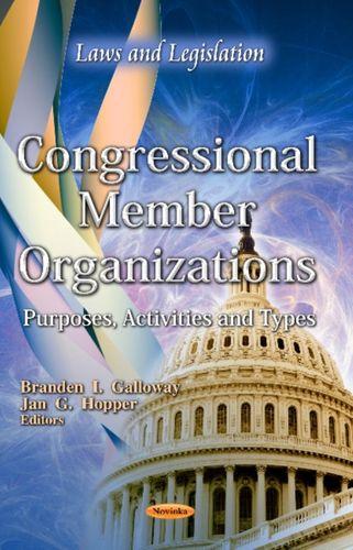 9781619424388 Congressional Member Organizations