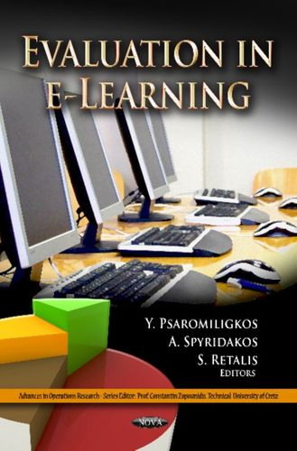 9781619429420 Evaluation in e-Learning