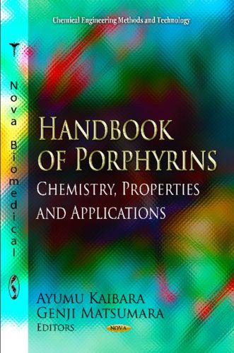 9781620810682 Handbook of Porphyrins