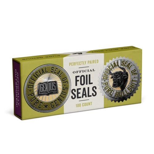 9781683491279 Knock Knock Genius/Pure Bull Shit Sticker Seals