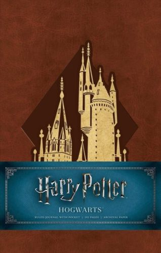 9781683833222 Harry Potter: Hogwarts Ruled Journal