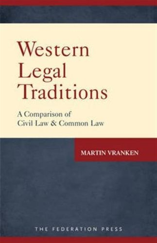 9781760020293 Western Legal Traditions