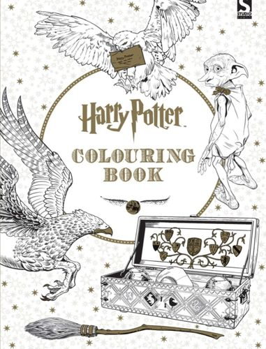 9781783705481 Harry Potter Colouring Book