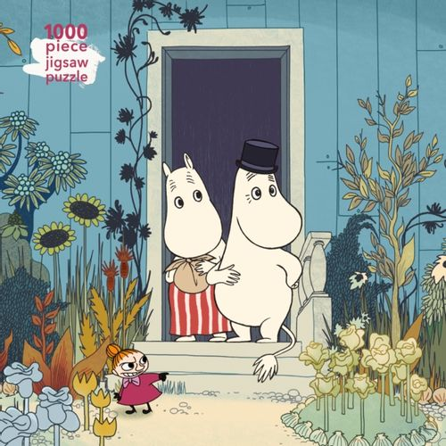 9781787558892 Adult Jigsaw Puzzle Moomins on the Riviera