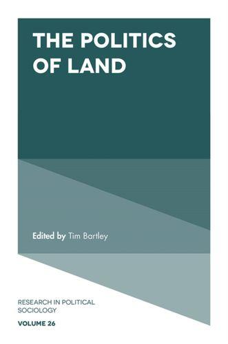 9781787564282 Politics of Land