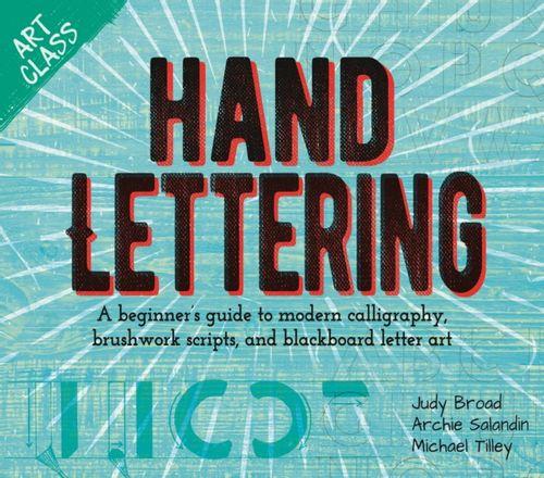 9781788286237 Art Class: Hand Lettering