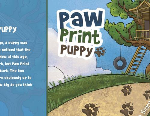 9781788784092 Paw Print Puppy