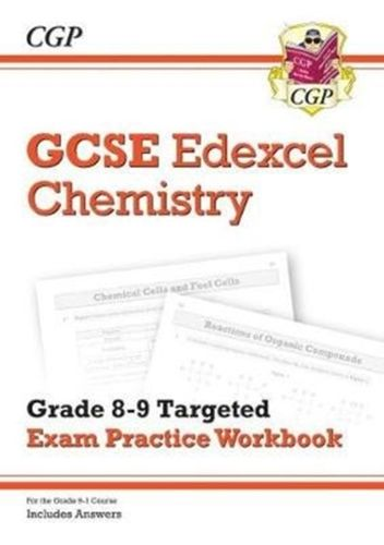 9781789080766 New GCSE Chemistry Edexcel Grade 8-9 Targeted Exam Practice Workbook (includes Answers)