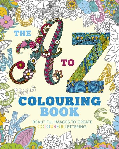 9781839400087 A to Z Colouring Book