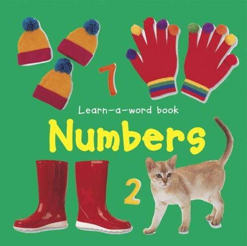 9781843227502 Learn-a-word Book: Numbers