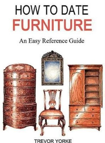 9781846743764 HOW TO DATE FURNITURE
