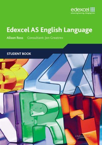 9781846902420 Edexcel AS English Language Student Book