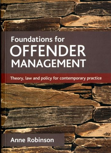 9781847427649 Foundations for offender management