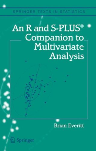 9781852338824 R and S-Plus (R) Companion to Multivariate Analysis